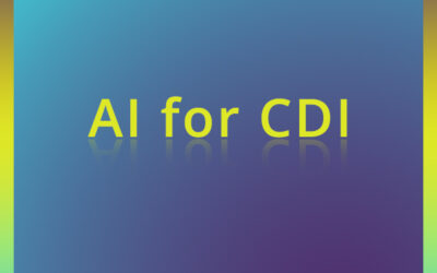 Enabling your Department – AI for CDI
